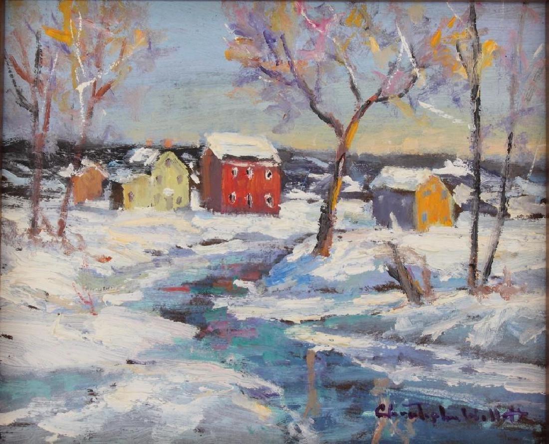 """Christopher Willett (b. 1958, Pennsylvania) """"Upper - 2"""