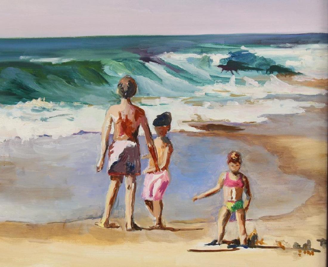 "Martha Sperling(20th Century, New Hope, PA) ""Children - 2"