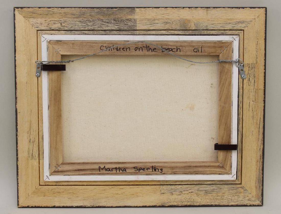 "Martha Sperling(20th Century, New Hope, PA) ""Children - 4"