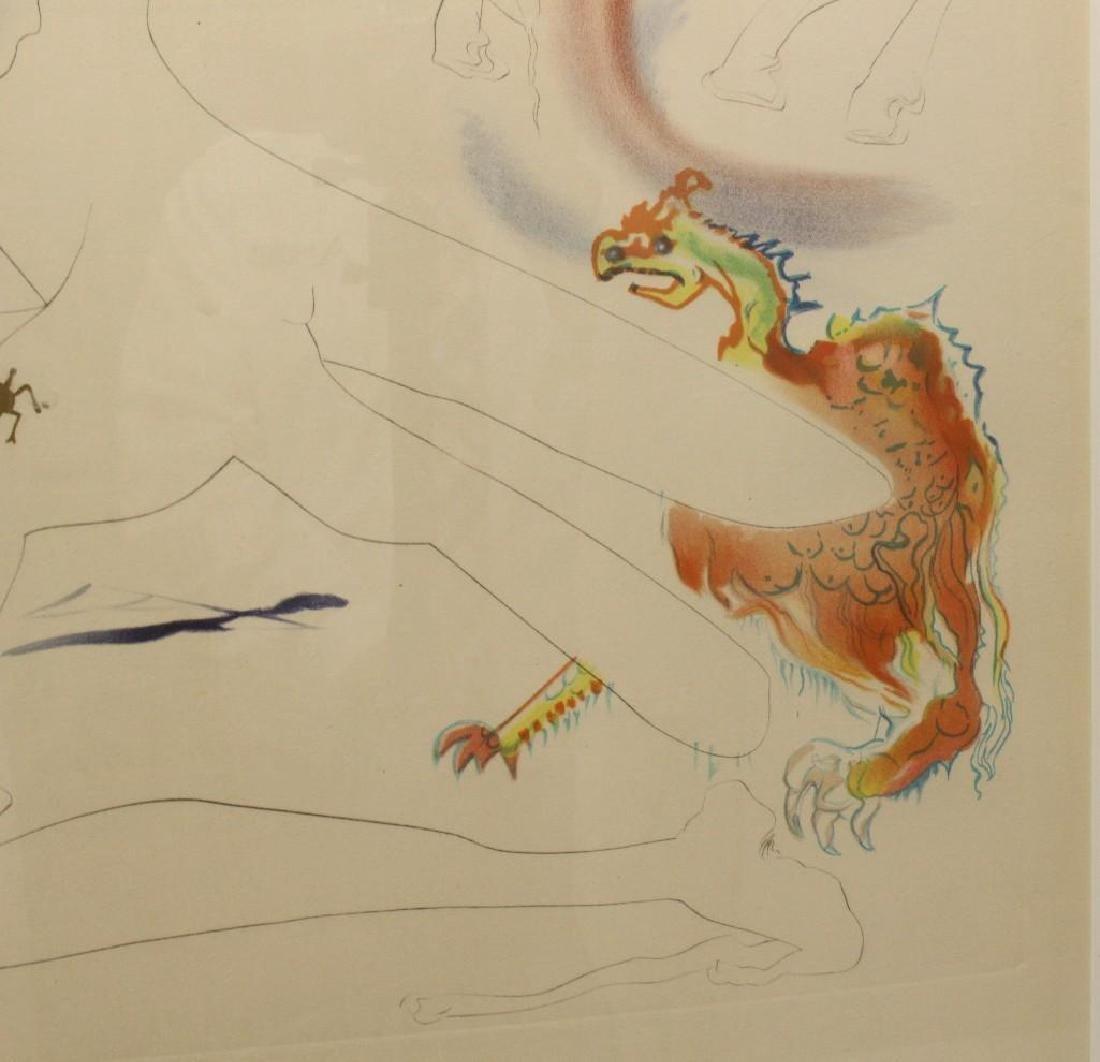 "Salvador Dali (1904-1989, Spain/France) ""Laser Unicorn"" - 3"