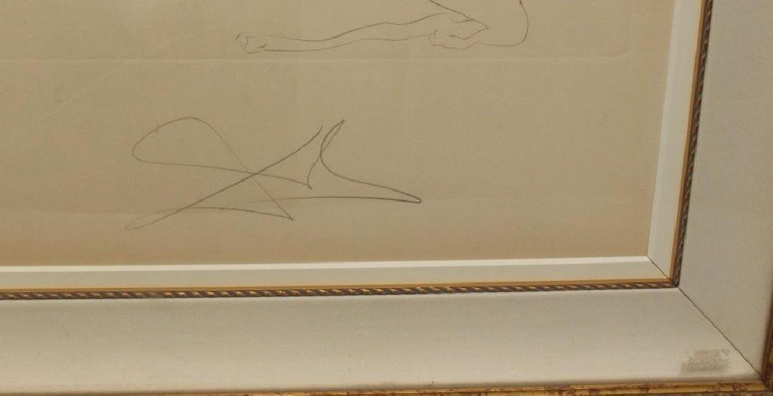 "Salvador Dali (1904-1989, Spain/France) ""Laser Unicorn"" - 4"