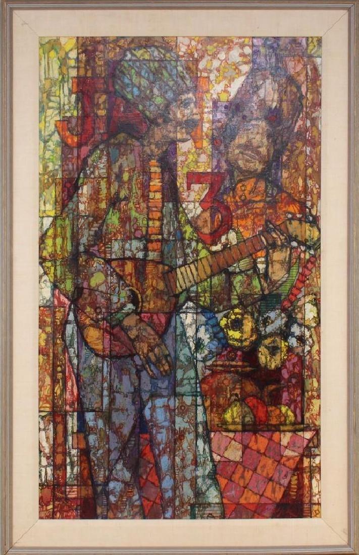 "Richard Taicher (1929-1989, Philadelphia, PA) ""January"
