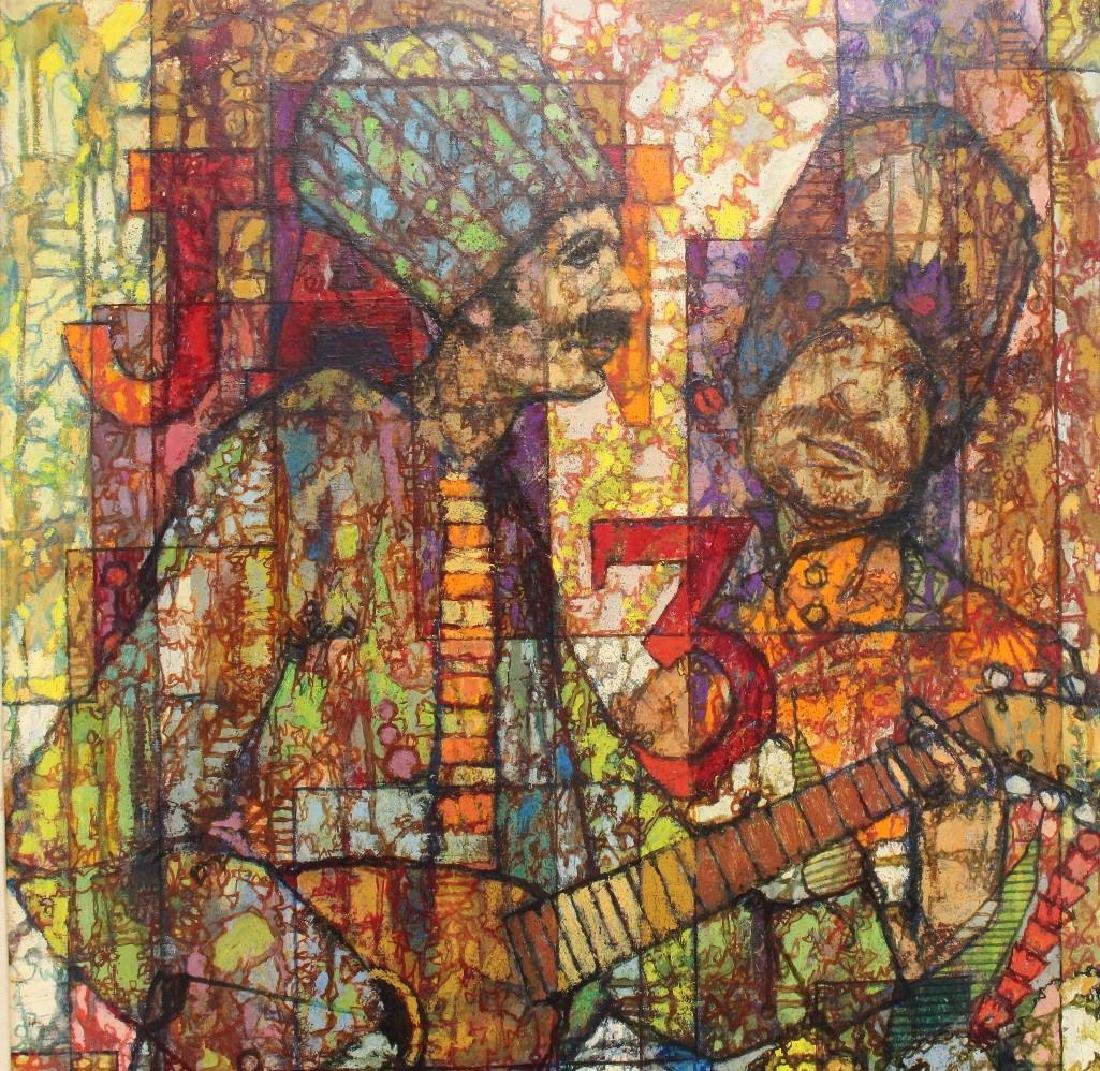 "Richard Taicher (1929-1989, Philadelphia, PA) ""January - 2"