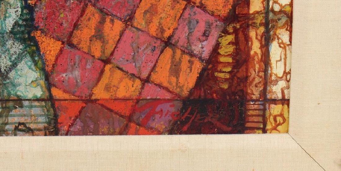 "Richard Taicher (1929-1989, Philadelphia, PA) ""January - 3"