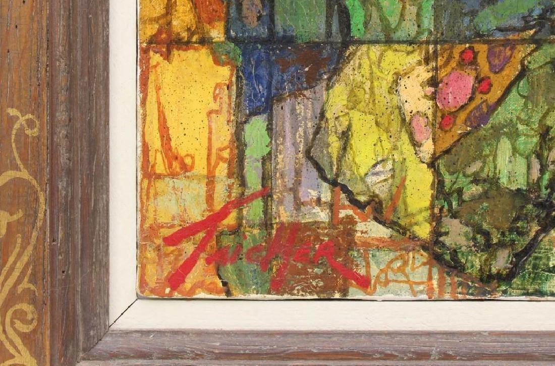"""Richard Taicher (1929-1989, Philadelphia, PA) """"Othello"""" - 3"""