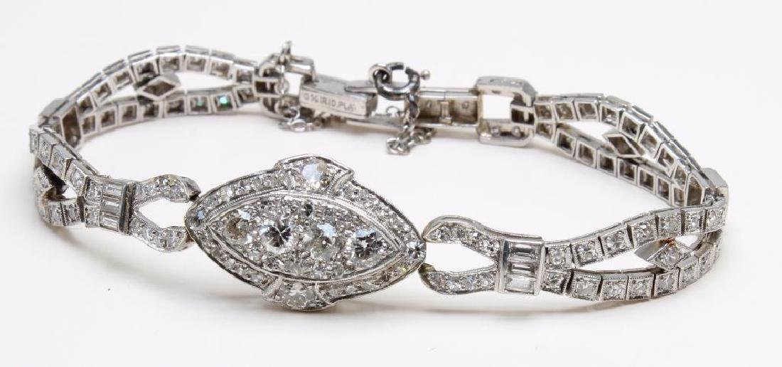 3.16CTW DIAMOND BRACELET IN PLATINUM