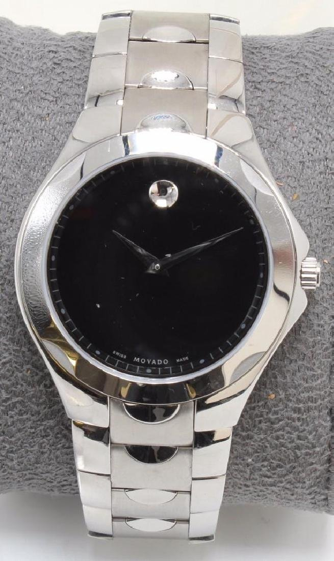 MOVADO WRIST WATCH. STAINLESS STEEL