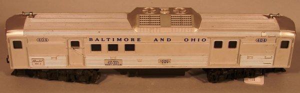 6003: Lionel 404 Baltimore & Ohio Mail Car