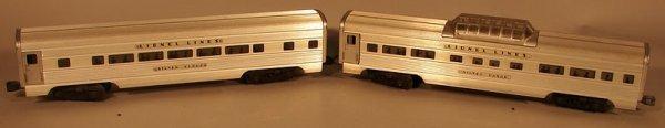 6005: Lionel 2532, 2533 Aluminum Passenger Cars