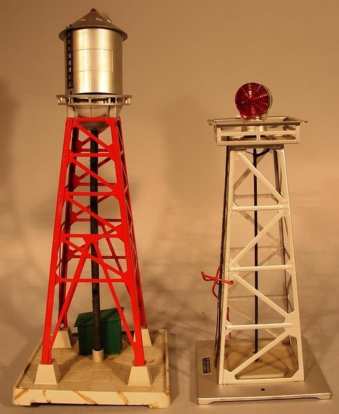 6007: Lionel 494 Beacon, 193 Water Tower