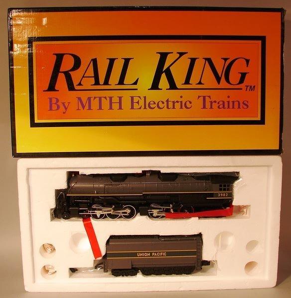 6013: MTH Rail King, UP Challenger, 4-6-6-4 Steam Engin