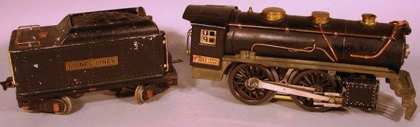 6070: Lionel 34E Standard Gauge Locomotive and Tender,