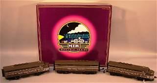 6182: MTH O Scale NYC F3 ABA Diesel Set OB