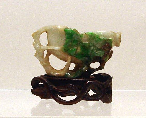 4024: Chinese Carved Jade/Jadeite Cup