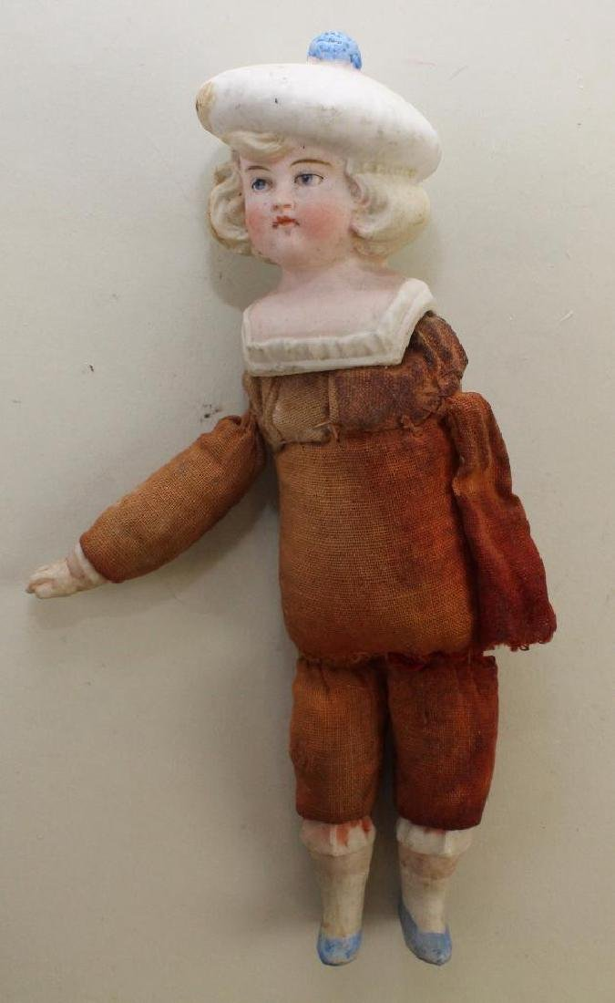 BODY PARTS - SCHOENHUT TYPE DOLL, HEADS, 1279 DOLL. - 4