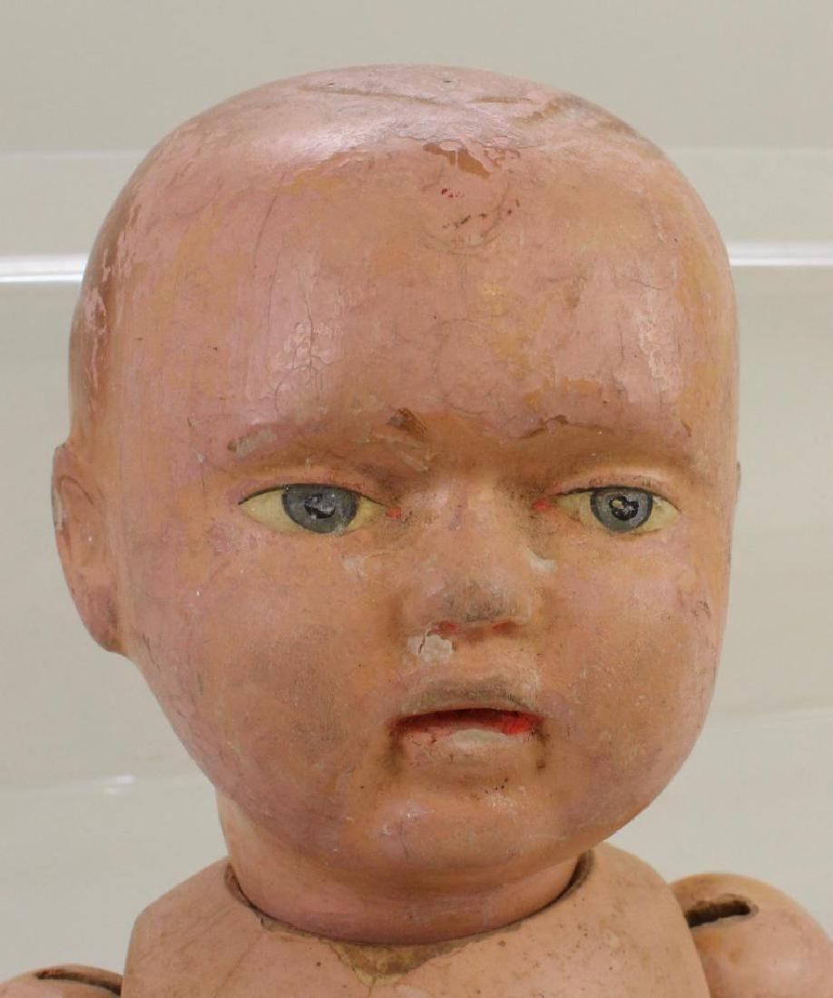 BODY PARTS - SCHOENHUT TYPE DOLL, HEADS, 1279 DOLL. - 6