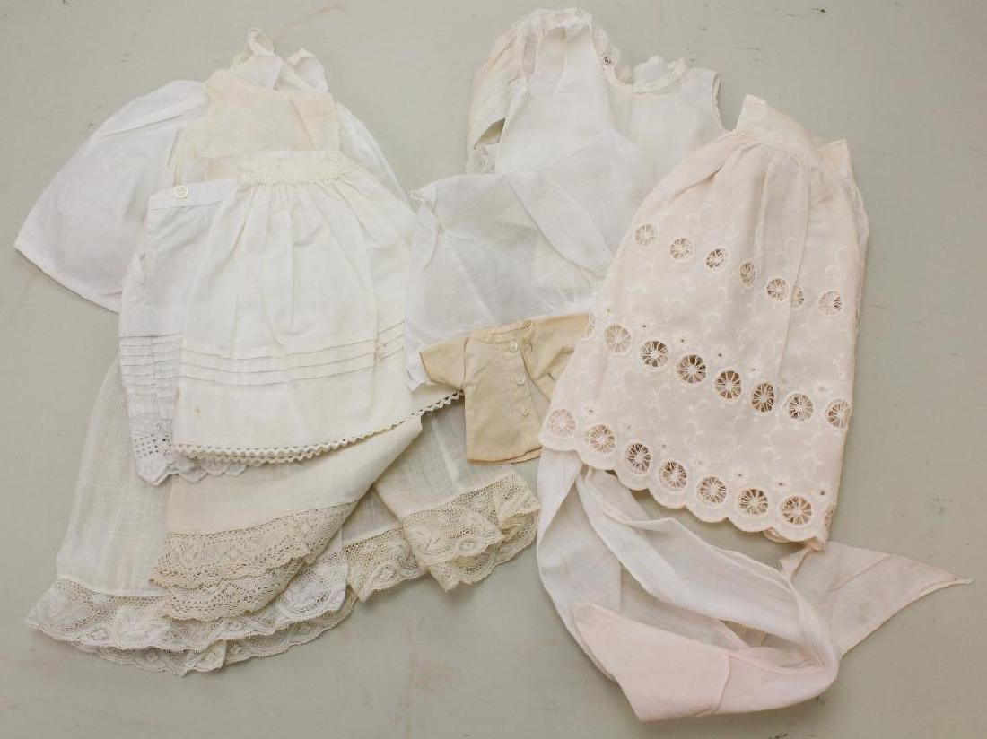 LOT OF VINTAGE/ANTIQUE DOLL CLOTHING.
