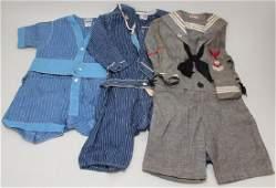 LOT OF VINTAGE/ANTIQUE CHILDREN'S CLOTHING.
