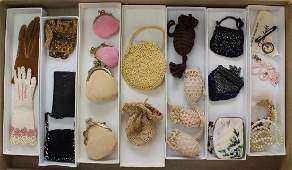 LOT OF VINTAGE/ANTIQUE DOLL ACCESSORIES.