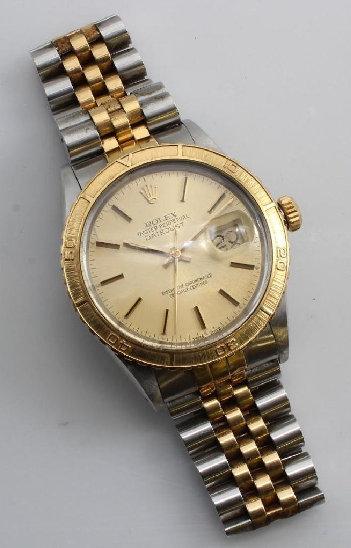 Rolex Wrist Watch. Oyster Perpetual Datejust.