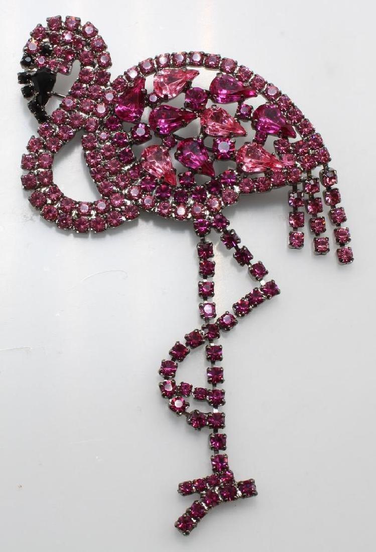 Brooch Pin. Butler & Wilson. Swarovski Crystal.