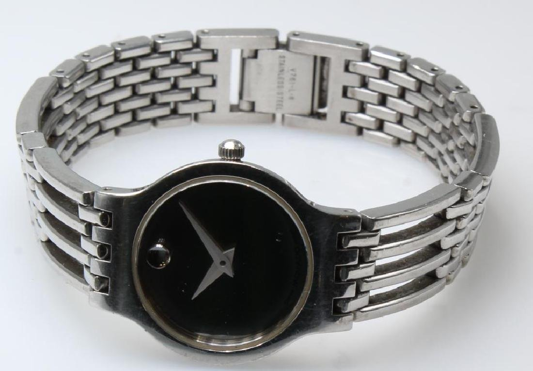 Ladies Movado Wrist Watch. Stainless Steel