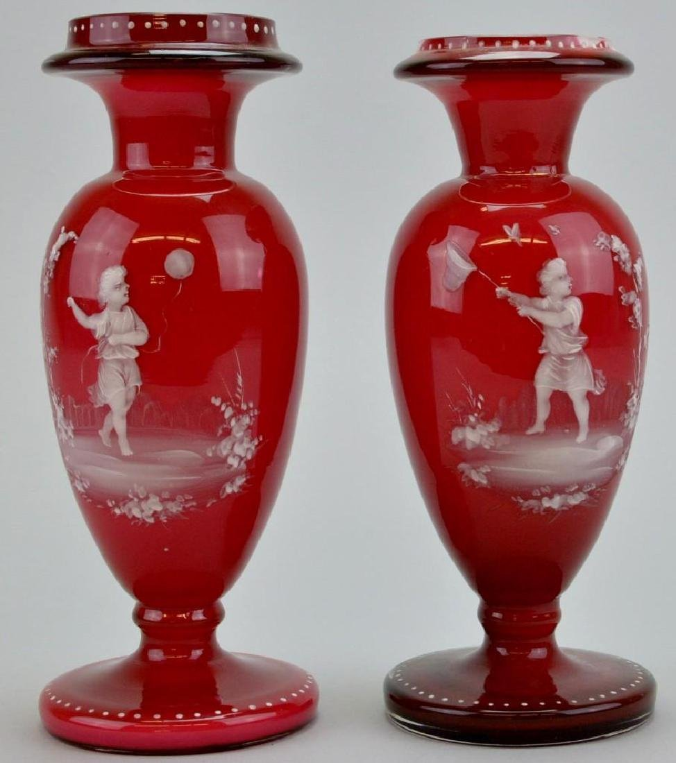 Mary Gregory Vases