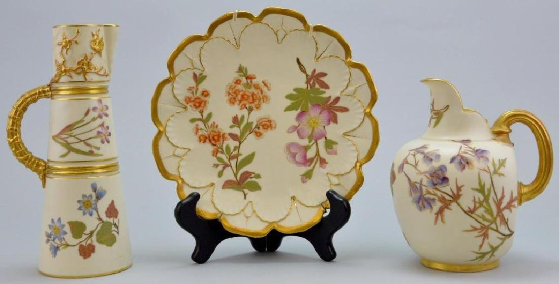 Royal Worcester Porcelain Grouping