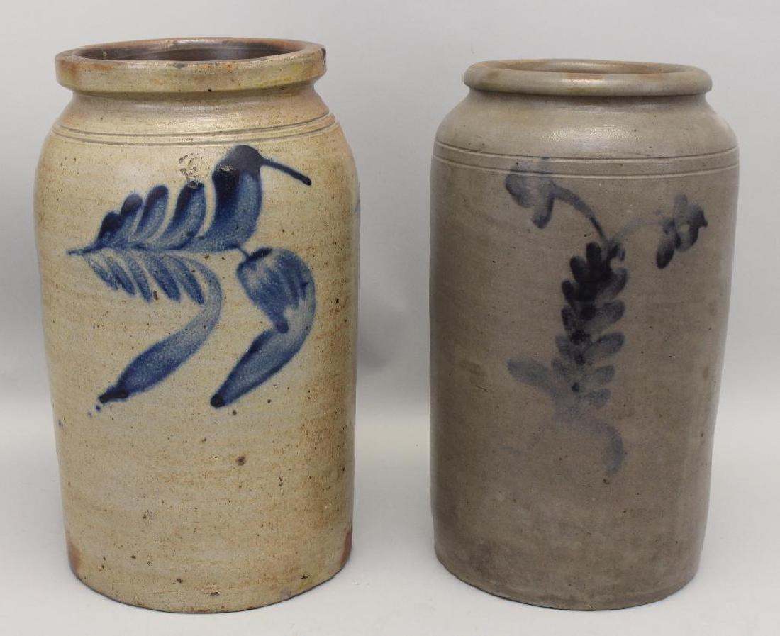 Salt Glazed Stoneware Crocks
