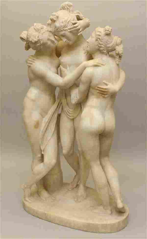 After Antonio Canova (1757-1822, Italy) The Three