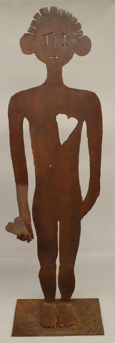 Figural Sheet Metal Sculpture