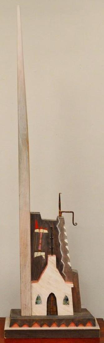George Cowen Mixed Media Sculpture
