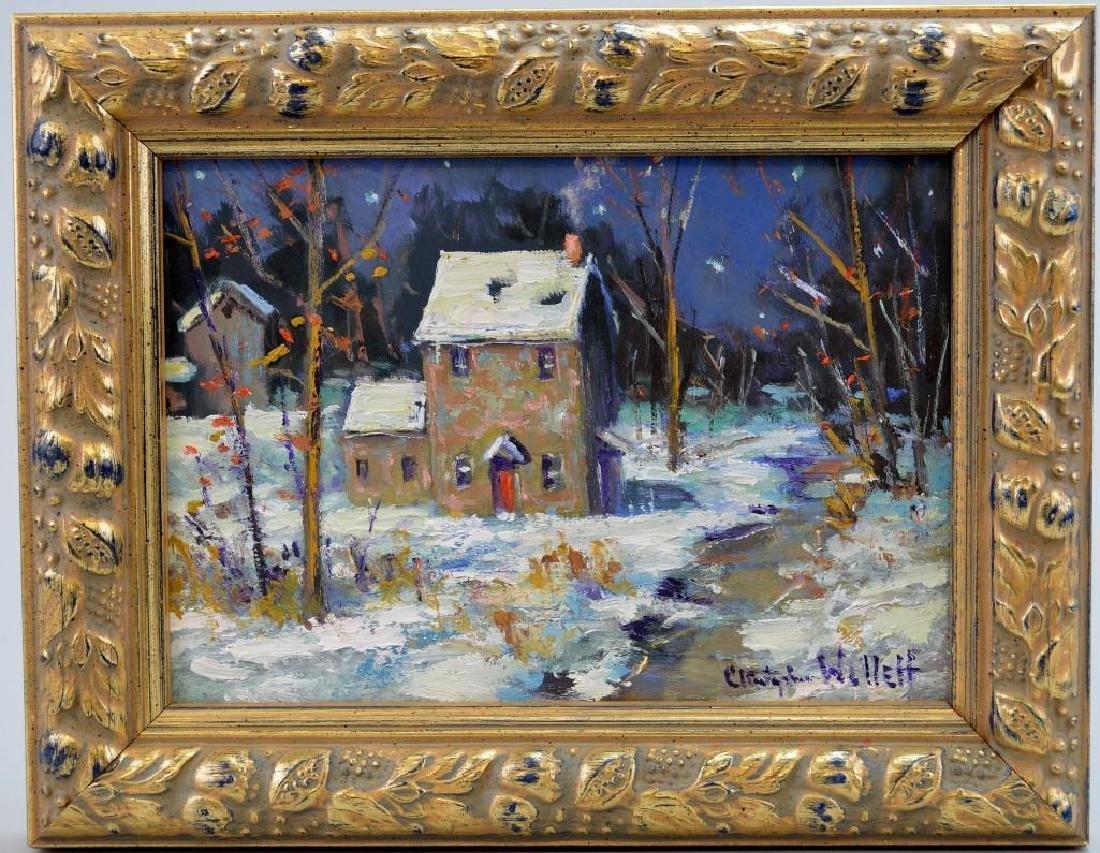 "Christopher Willett (PA, b.1959) ""January Night"""
