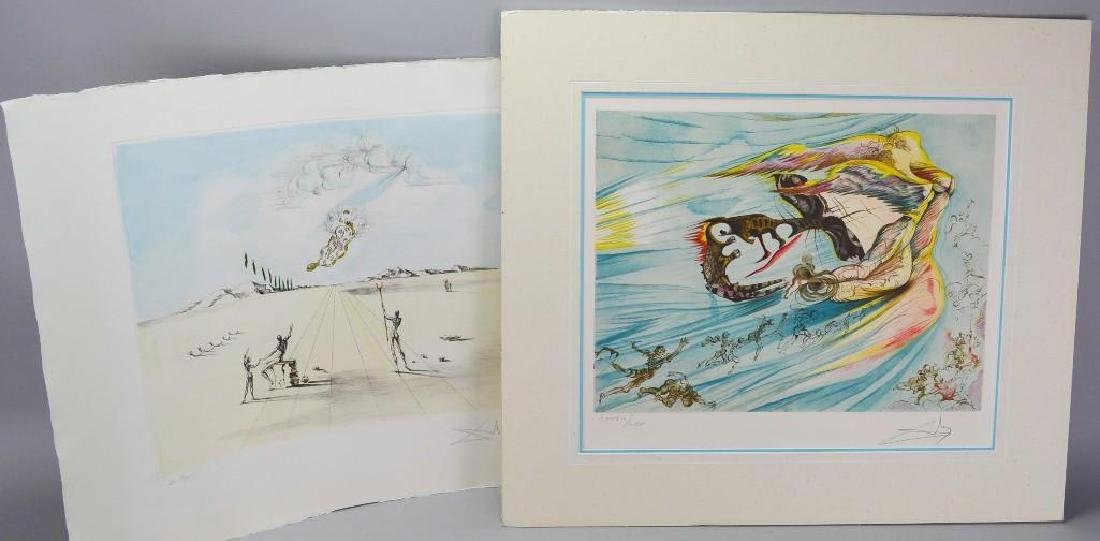 Signed Salvador Dali (France, Spain 1904-1989) Grouping