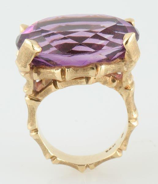 3243: Amethyst Ring