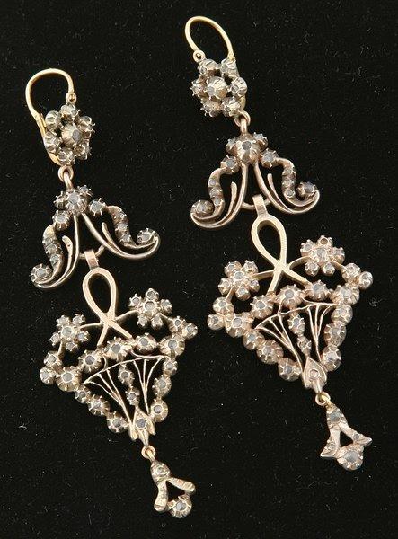 3244: Antique Earrings