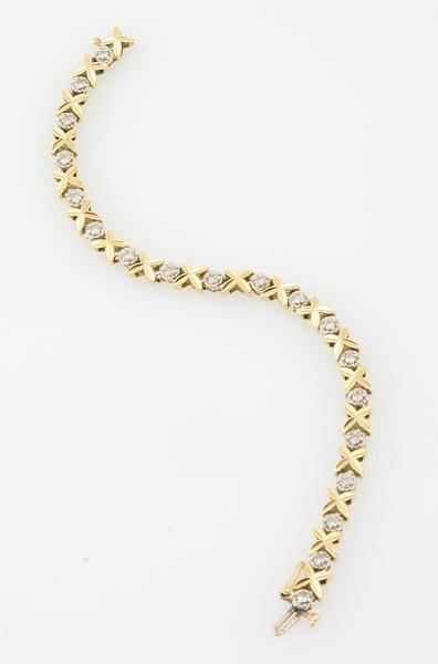 3252: Diamond Bracelet