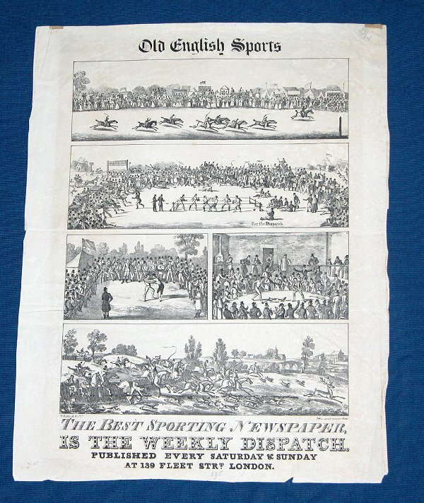 24: 19th Century Sports Newspaper Illustrated