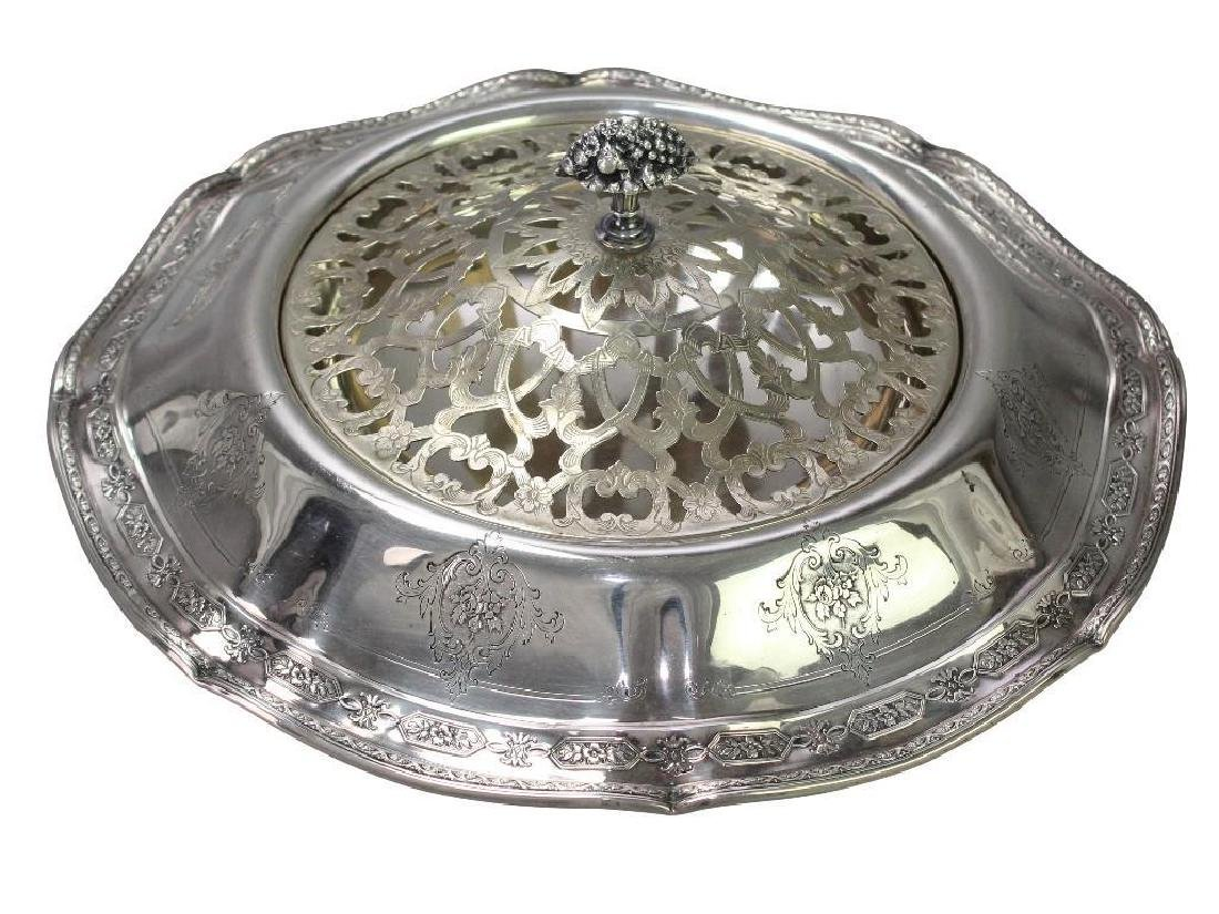 JE Caldwell Sterling Silver Center Bowl