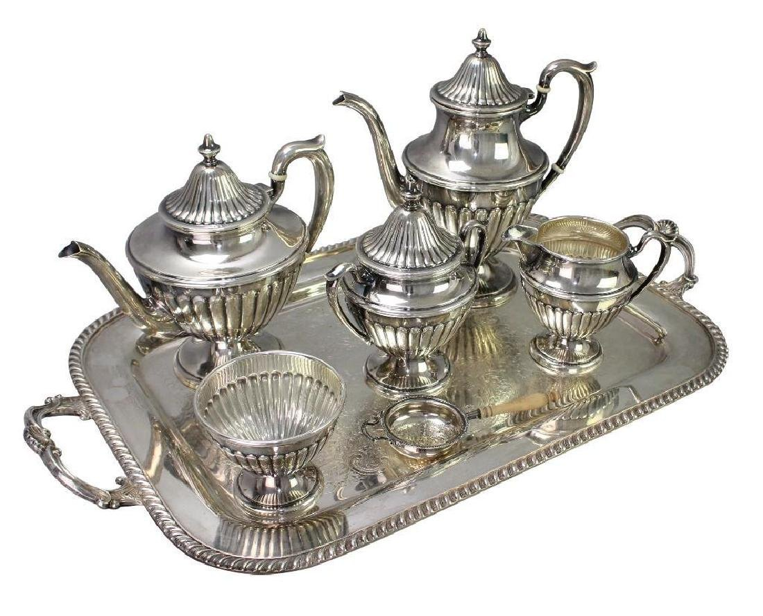 Dunkirk Silversmiths Sterling Silver Tea Service