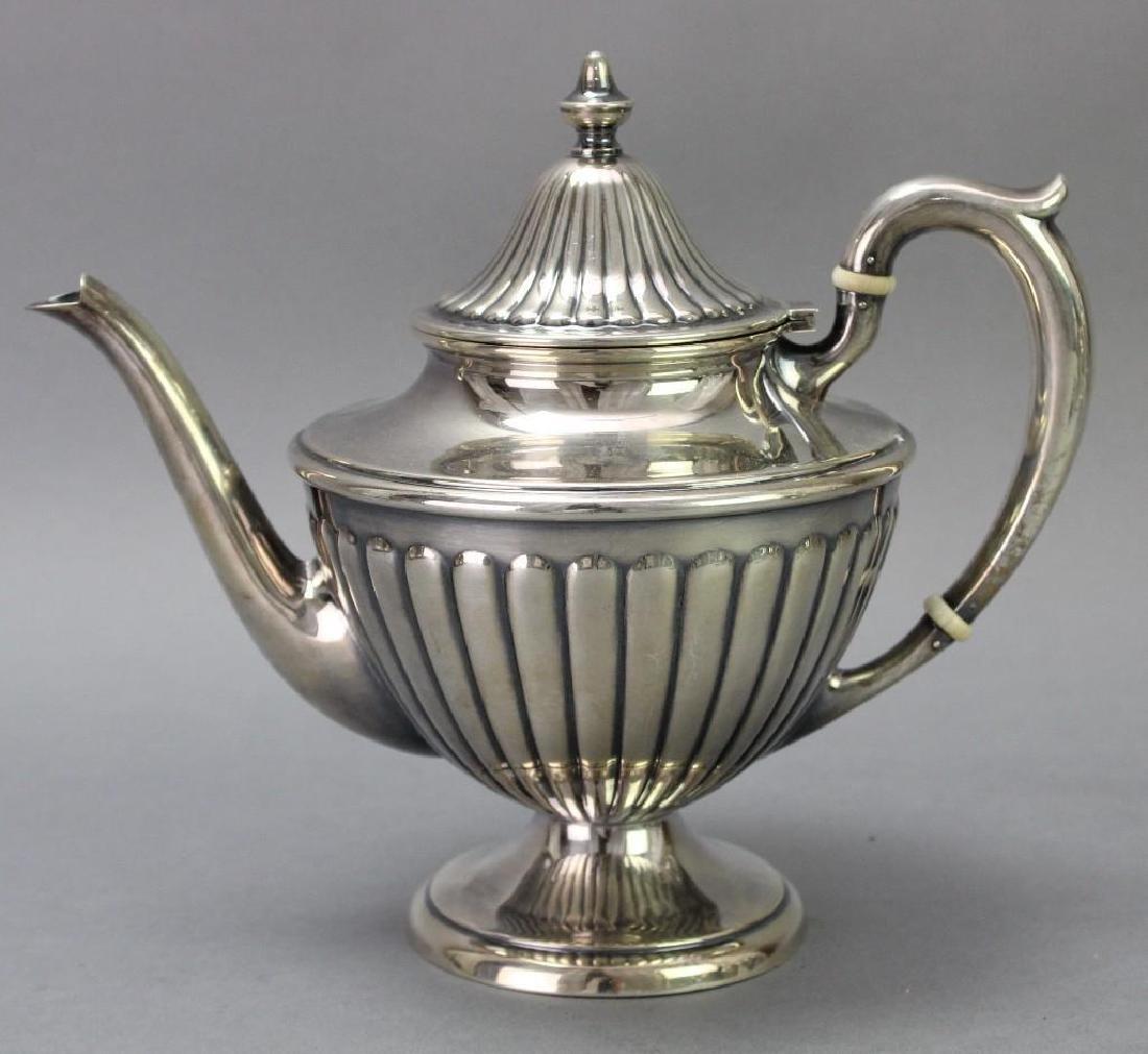Dunkirk Silversmiths Sterling Silver Tea Service - 3