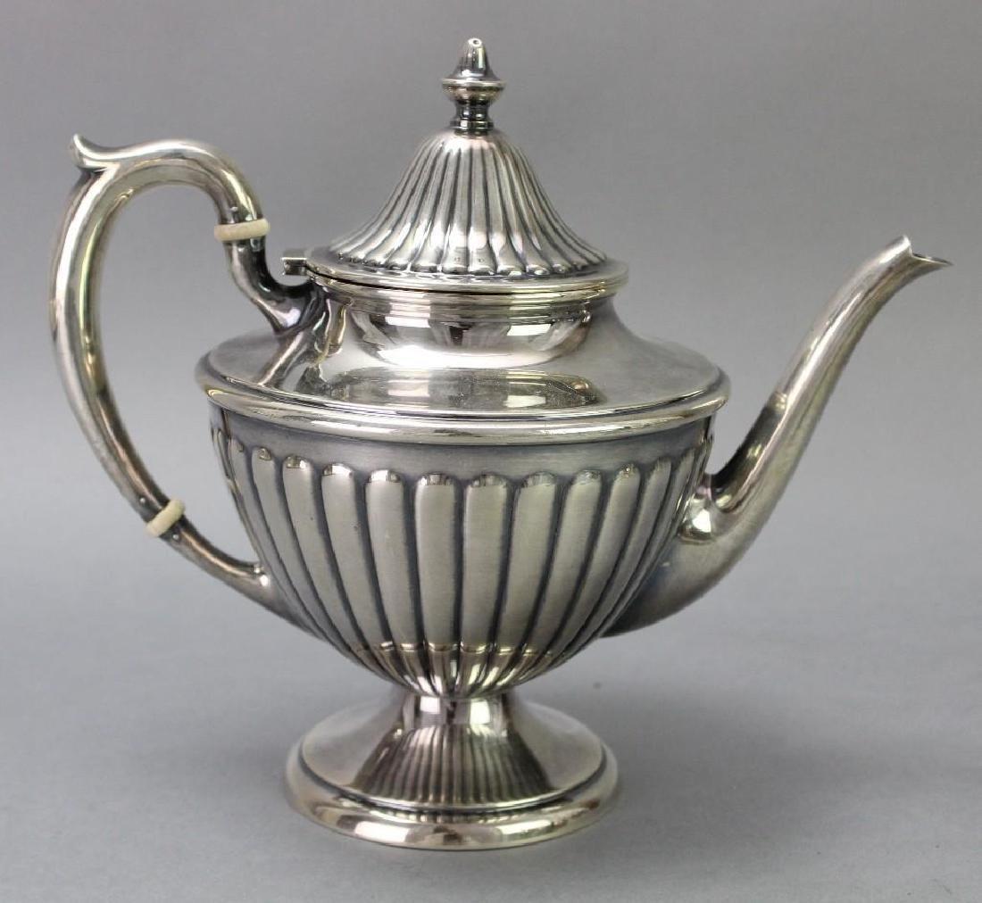 Dunkirk Silversmiths Sterling Silver Tea Service - 4