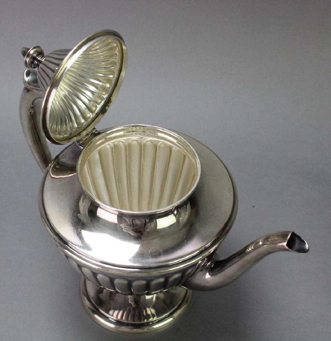Dunkirk Silversmiths Sterling Silver Tea Service - 5