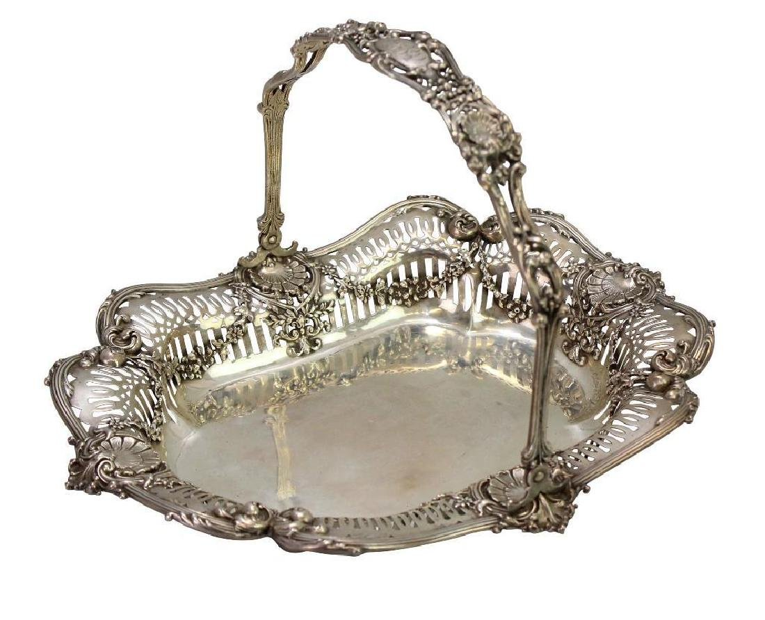 Sterling Silver Bread Basket