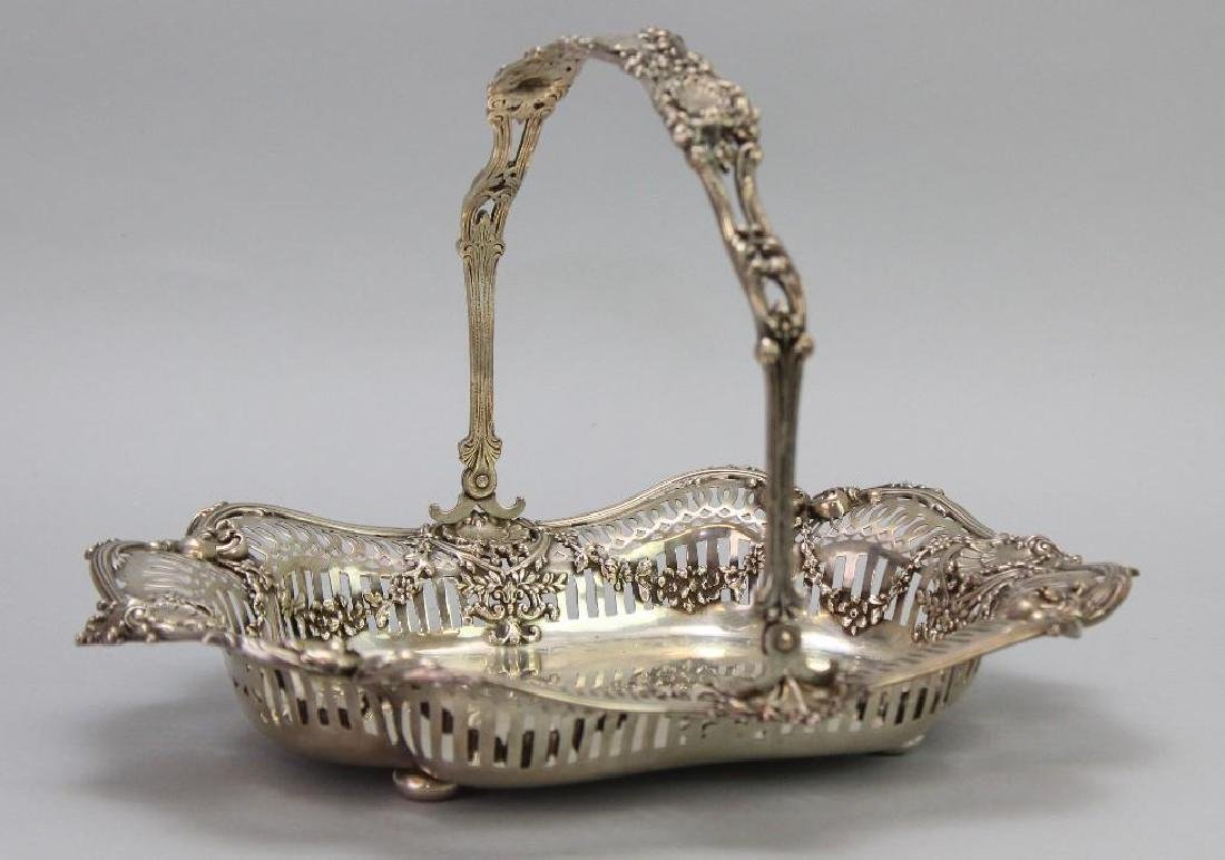 Sterling Silver Bread Basket - 2