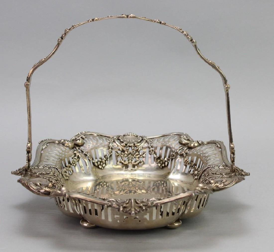 Sterling Silver Bread Basket - 4