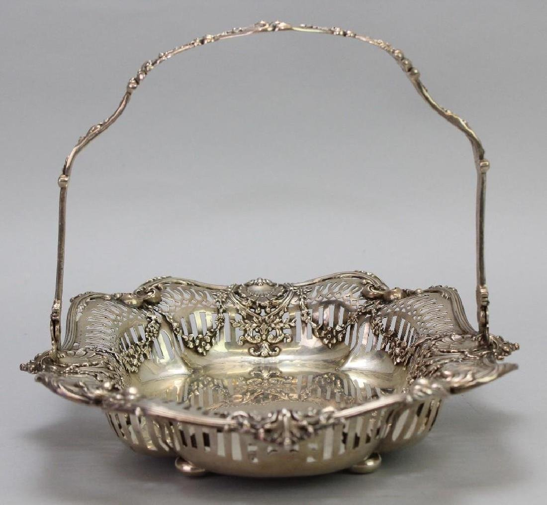 Sterling Silver Bread Basket - 6