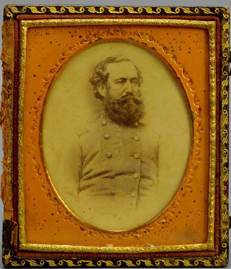 CDV and Autograph of Civil War Confederate General Wade - 2