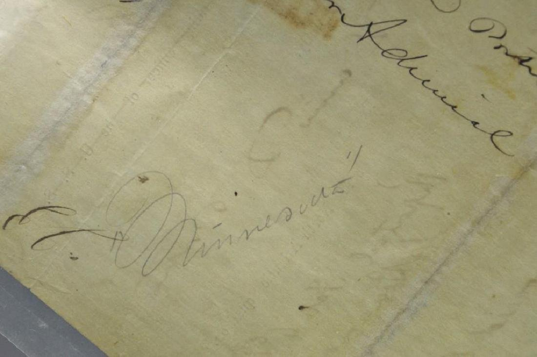 Autograph of Civil War Admiral David Dixon Porter - 5