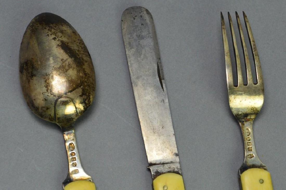 Civil War Period Officers Eating Utensil Set - 5